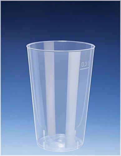 25 x 300 ml COCKTAIL Tasse/Gobelet en PP/presque incassable/Alt. Plus de Voie/Gobelets réutilisables