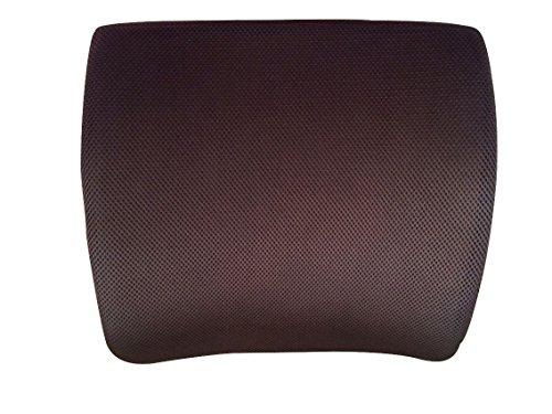 Back 2 Health - Cuscino supporto lombare, con Memory Foam, allevia il mal di schiena, (Vertebre Colonna Vertebrale)