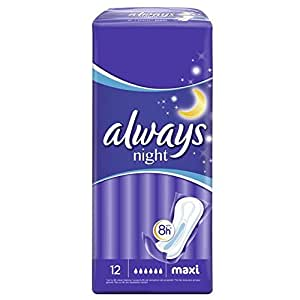 Always - 83722752 - Maxi Serviettes Nuit  x 12 - lot de 2