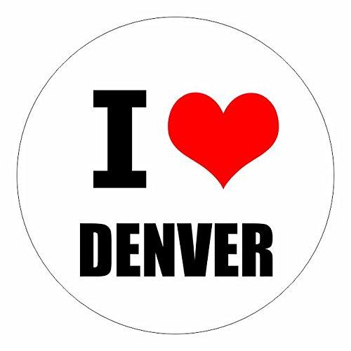 I love Denver Colorado in 2 Größen erhältlich Aufkleber mehrfarbig Sticker Decal - Colorado Decals