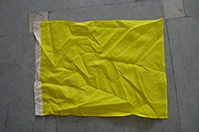 Yellow Flag - The Flags of Nascar - Racing Flag -- 14