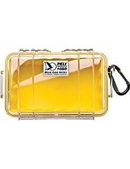 Peli MicroCase 1050 (Couleur: Clair/Jaune) boite plastique