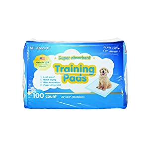 All-Absorb Training Pads 56cm x 58cm 100-count Trainingsunterlagen Für Welpen