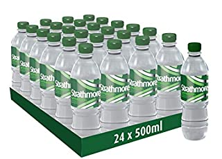 Strathmore Sparkling Spring Water Bottles, 24 x 500 ml (B07DQQW6MX)   Amazon Products