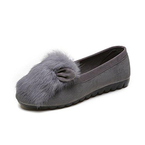 Chaussures plates pour femmes/ Joker Lai Man/Anti-dérapant chaussures plates chez la femme enceinte A
