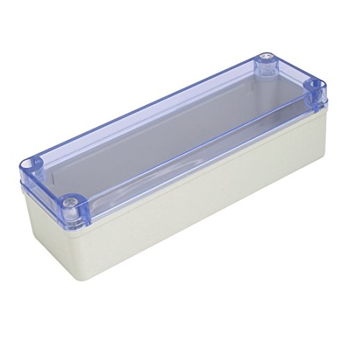 70mm ABS Clear Cover Dustproof IP65 Electrical Junction Box ()