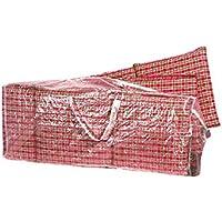 Fachhandel Plus Komfort Schutzhülle für Hochlehner Auflagen 125x32x50cm Tragetasche für Sitzkissen