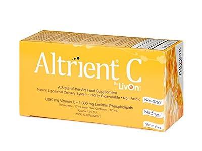 Altrient C - Liposomal Vitamin C / Lypospheric Vitamin C / Lypo-Spheric Vitamin C - Far more bio-available than Vitamin C Powder and Vitamin C Capsules. Vitamin C 1000mg from LivOn Labs