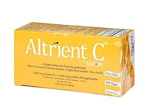 Altrient C - Liposomal Vitamin C / Lypospheric Vitamin C / Lypo-Spheric Vitamin C - Far more bio-available than Vitamin C Powder and Vitamin C Capsules. Vitamin C 1000mg