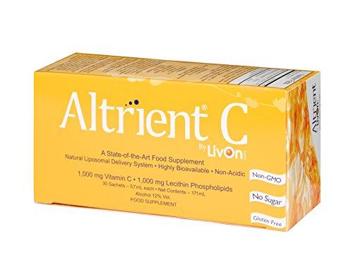 Altrient C – Liposomal Vitamin C / Lypospheric Vitamin C / Lypo-Spheric Vitamin C – Far more bio-available than Vitamin C Powder and Vitamin C Capsules. Vitamin C 1000mg