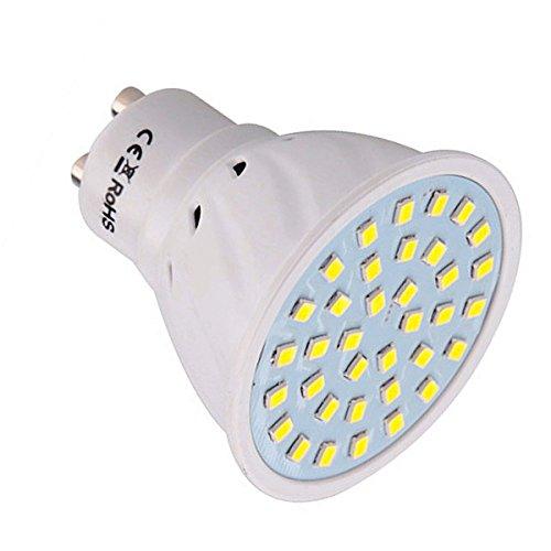 JIALUN-LED GU10 36LED 3W 2835SMD 200-300Lm Blanco cálido Blanco frío LED proyector...