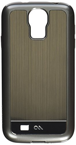 Case-Mate CM026856 Brushed Aluminum Case for Samsung Galaxy S4 (Gunmetal-Black)