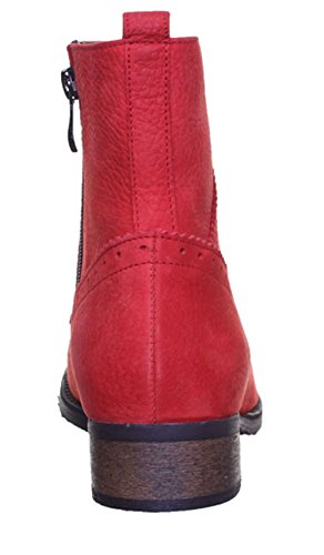 Justin Reece  4080, Bottines richelieu femme Rouge - Red T37