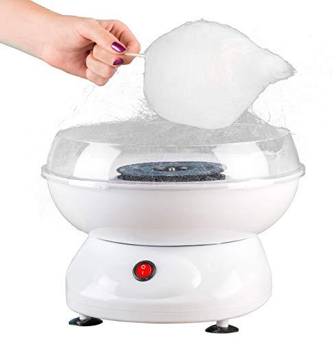 Rosenstein & Söhne Zuckerwattemaschine: Zuckerwatte-Maschine mit spülmaschinenfesten Aufsätzen, 500 Watt (Zuckerwattenmaschine)