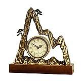 Retro Orologio da Tavolo Decorazione Orologio in Rame Orologio da Tavolo Orologio da Tavolo Orologio da Tavolo Ufficio Ornamenti Zen
