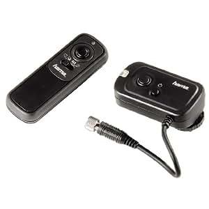 Hama Funkfernauslöser für Kameras mit Remote-Control-Eingang, DCCSystem, Schwarz