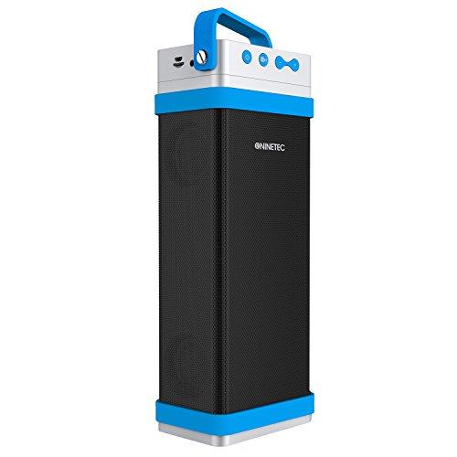 NINETEC Beatster 22W Bluetooth NFC Speaker Soundsystem Sound Box Lautsprecher Blau