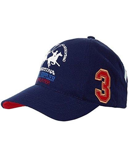 la-martina-unisex-cap-baseball-twill-blau-navy-7017-one-size-herstellergrosse-tu