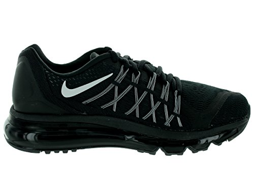 Nike Air Max 2015, Chaussures mixte enfant Black/White