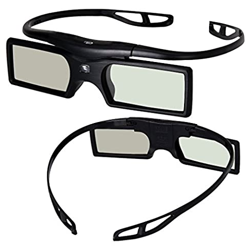 [Sintron] 2X Universal 3D RF Aktive Shutter Brille Glasses Bluetooth Eyewear Glasses for 2015 2016 Sony 3D TV & 3D Projektor Kompatibel mit TDG-BT500A TDG-BT400A (2 Pairs) , Black , 27g , item in Deutschland