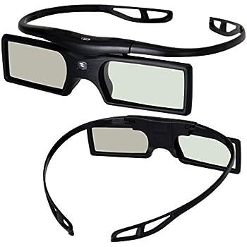 [Sintron] Kit 2x Universal Lunettes 3D Obturateur actif RF Bluetooth lunettes 2015Pour Sony TV 3D et projecteur 3D, compatible avec tdg-bt500a tdg-bt400a (2paires), noir, 27g, Article au Royaume-Uni