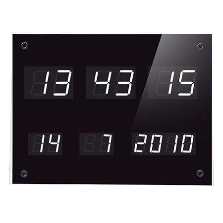 ELV DCF-Uhr mit LED-Anzeigen DCF-7SEG, Komplettbausatz (ohne DCF-Empfangsmodul und Staubschutzabdeckung)