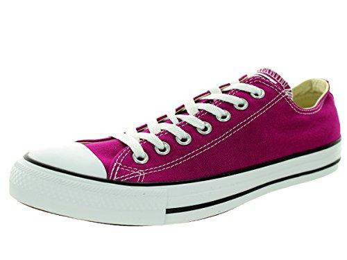 Converse Unisex Chuck Taylor Ox Pink Sapphir Basketball Shoe 10 Men US / 12 Women US (Pink Sapphire)
