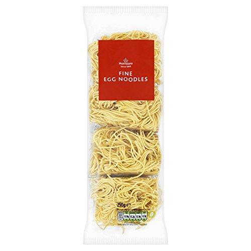 Morrisons Medium Egg Noodles, 250g