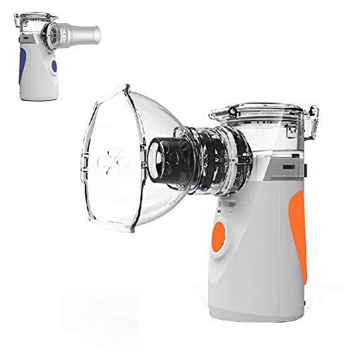 Mr.LQ Inhalador de Vapor de Malla portátil Inhalador de pulverización Inhalador de...