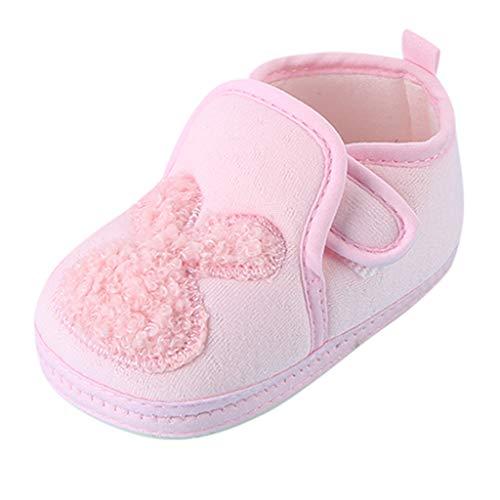 WEXCV Unisex Baby Jungen Mädchen Schuhe Cartoon-Hase Leicht Sneaker Casual Lauflernschuhe Anti-Rutsch Freizeitschuhe Herbst Winter Warme Kleinkind Schuhe Babyschuhe