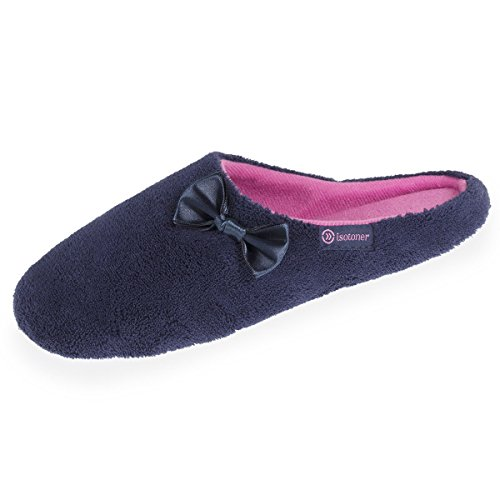 Chaussons Mules Femme nud Satin