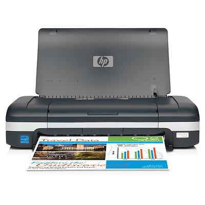 HP Officejet H470B Mobile Printer Drucker Foto KOMPAKT Farbe Beidseitige Tintenstrahldrucker A41200DPI X 1200DPI bis 22ppm (Mono)/bis zu 18ppm (Farbe) Kapazität: 50Blatt USB, Bluetooth -