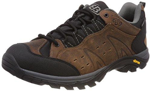 Brütting Mount Bona L Classic, Chaussures de Randonnée Basses Homme Marron (Braun)