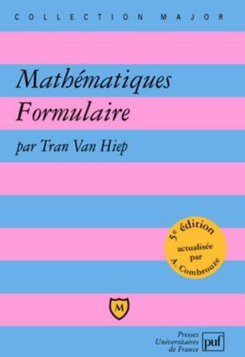 Mathmatiques Formulaire