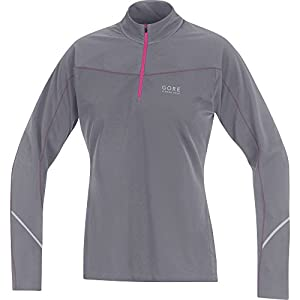 GORE RUNNING WEAR Damen Warmes Thermo-Langarm-Laufshirt, GORE Selected Fabrics, ESSENTIAL LADY Thermo Shirt, SLESTH