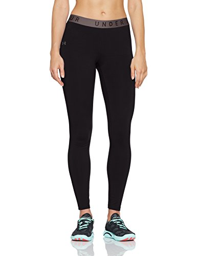 Tri-blend Pants (Under Armour Damen Favorites Leggings, Schwarz, L)
