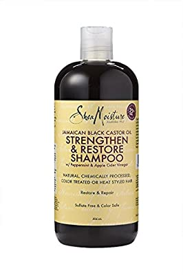 Shea Moisture Jamaican Black Castor Oil Strengthen/Grow and Restore Shampoo, 506 ml by Sundial BrandsLLC