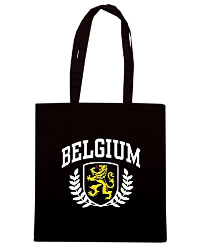 T-Shirtshock - Borsa Shopping TSTEM0139 belgium Nero