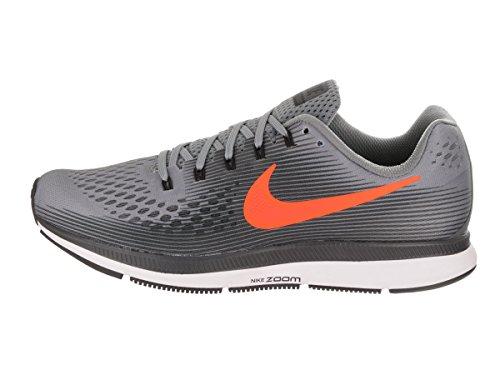 timeless design 853ee addbd Nike Air Zoom Pegasus 34, Gris Chaussures De Course À Pied Pour Homme ...