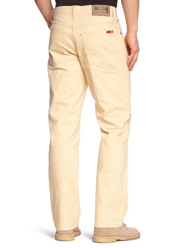 Mustang Jeans - Jean - Tapered - Homme Beige (Marzipan 252)