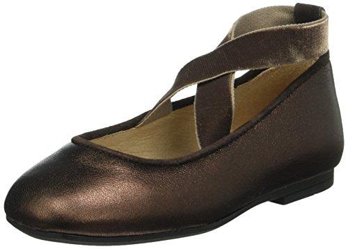 UnisaBONO_SM - Ballerine Bambina , Marrone (Braun (Copper)), 30