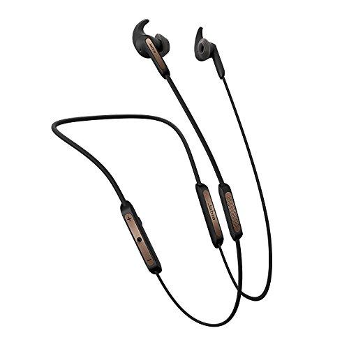Jabra Elite 45e Bluetooth In-Ear Kopfhörer (Wireless, bis zu 8 Stunden Akkulaufzeit, anpassbarer Nackenbügel, Sprachsteuerung auf Knopfdruck, Alexa, Siri und Google Assistant) kupfer schwarz