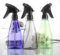 Primeway Plastic Multipurpose Trigger Spray Bottle, 360ml, 3 Pcs Set, Assorted Colors