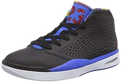 Nike Jordan Flight 2015, Chaussures de sport homme, Noir / rouge / noir (noir / rouge gymnase - explosion - blanc), 41 EU