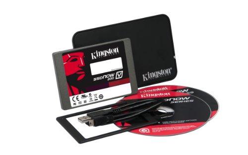 Kingston SV200S3N7A/64G V200-Series Kit 64GB SSD interne Festplatte (6,4 cm (2,5 Zoll), SATA III)