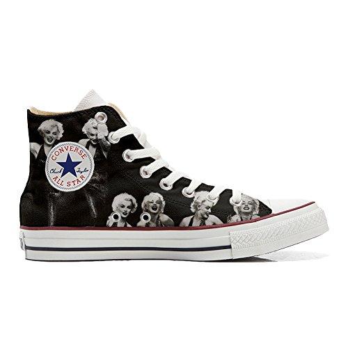 Scarpe Converse All Star Personalizzate (scarpe artigianali) Foto Marylin  ...