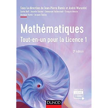 Mathématiques Tout-en-un pour la Licence 1 - 3e éd