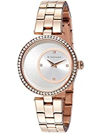 Giordano Analog Silver Dial Women's Watch - A2056-33