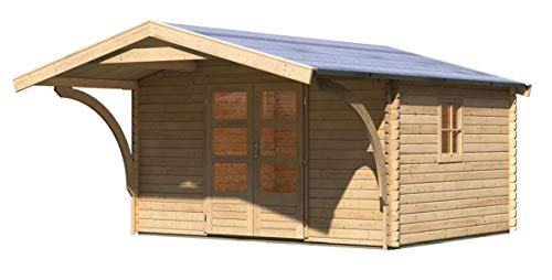 Gartenhaus Gartenhaus Vordach