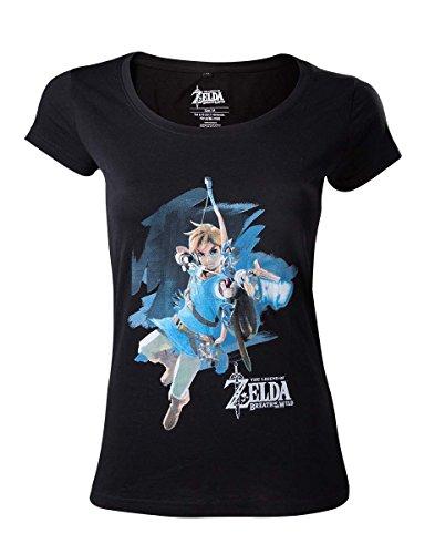 Zelda Breath of the Wild T-Shirt (Damen) -S- Link